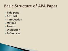 Sample Apa Methods Section: How To Write A Methods